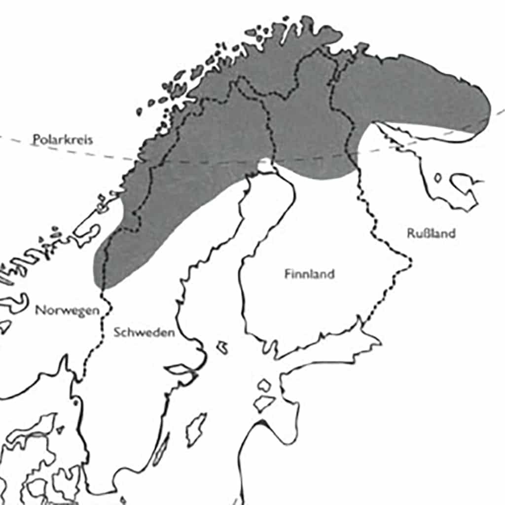 Eine Karte des Landes