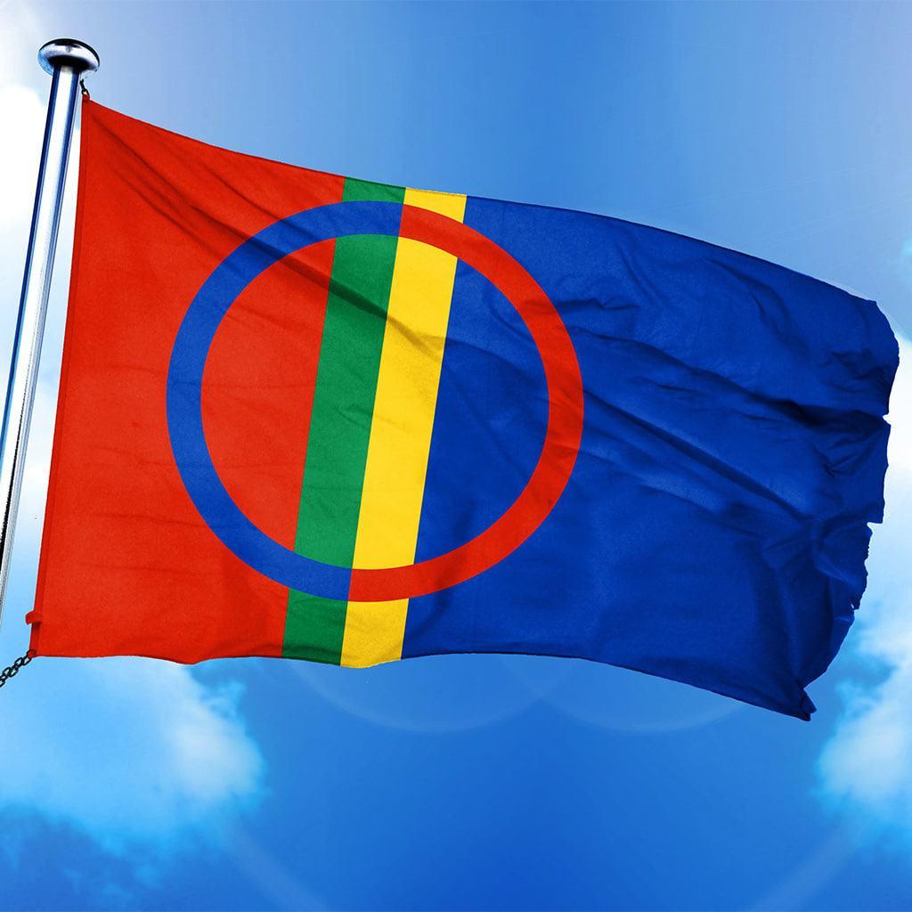 Volksflagge der Sámi
