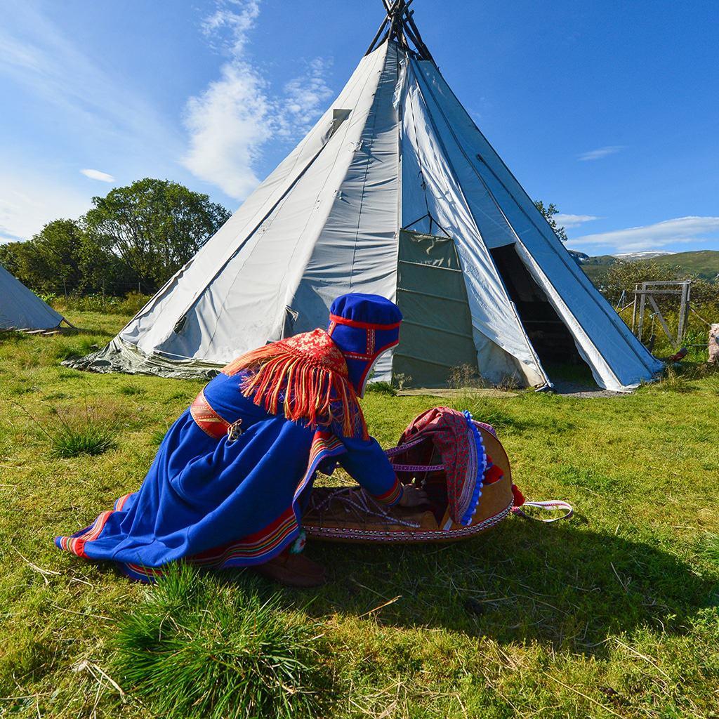 Die sámische Kultur in Norwegen erleben
